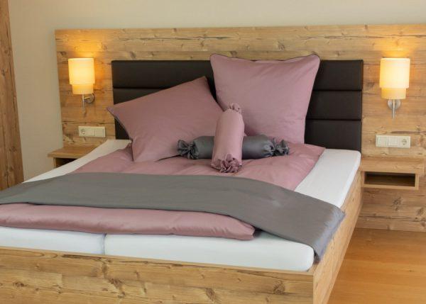 schöne Bettwäsche set einfarbig mit Reißverschluss